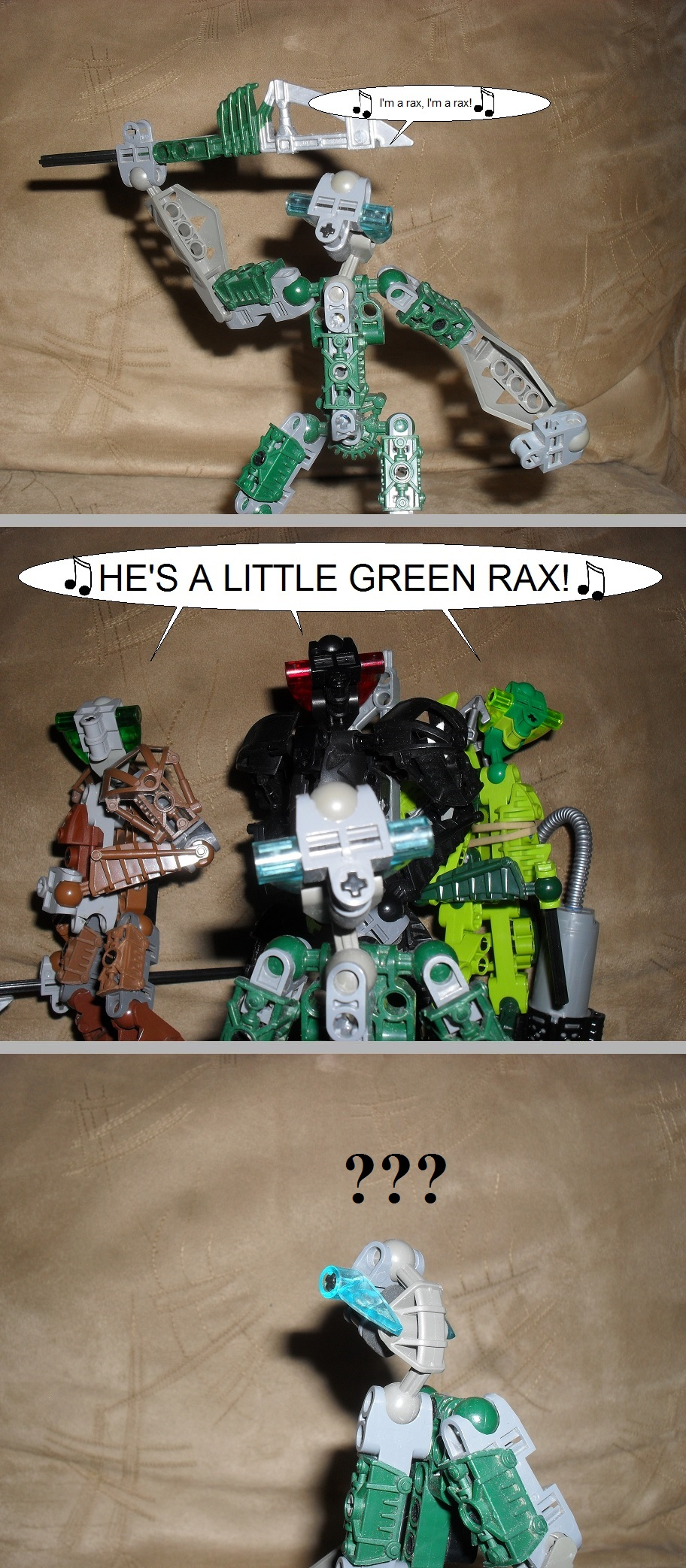 The little green rax